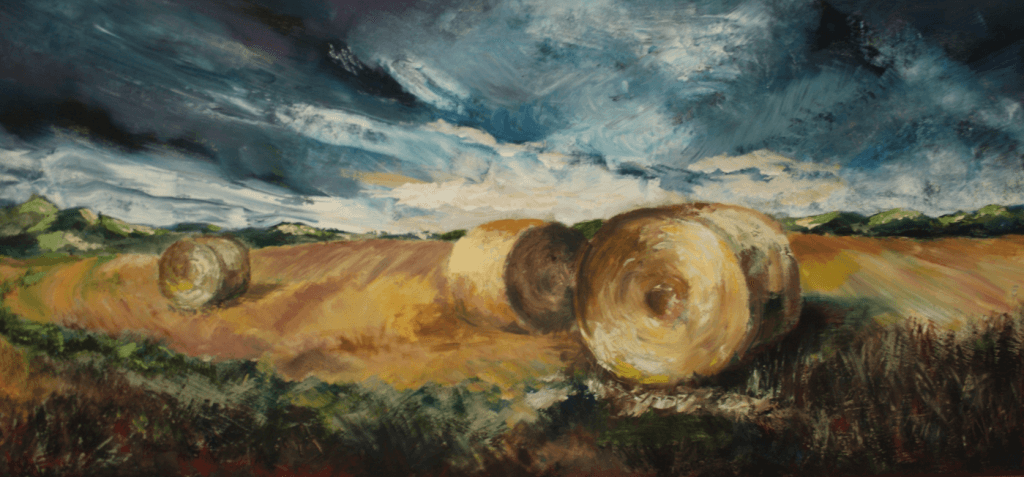 Hay bales (print only)