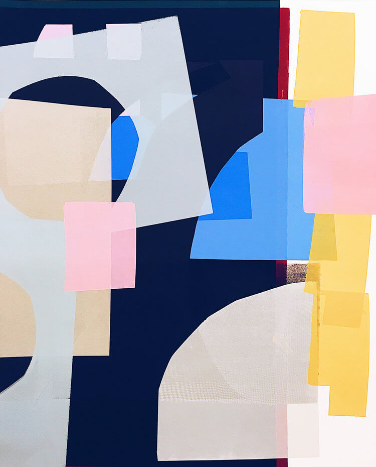 Colour and Abstract Form: Playful Screen Print