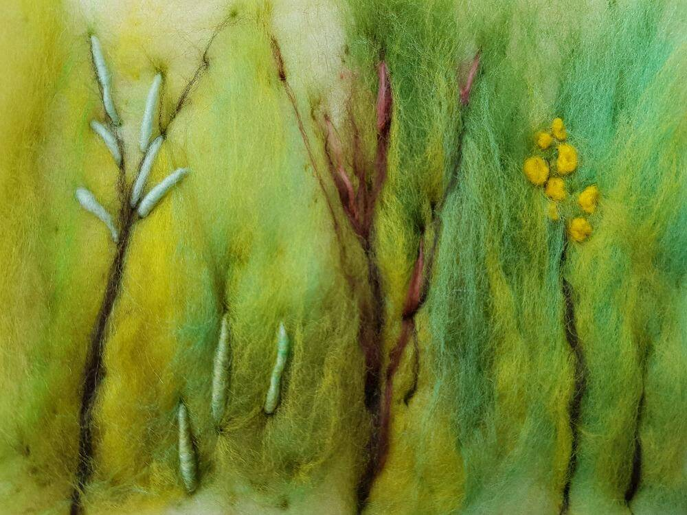 Needle Felt & Stitch – Landscape with Agnis Smallwood