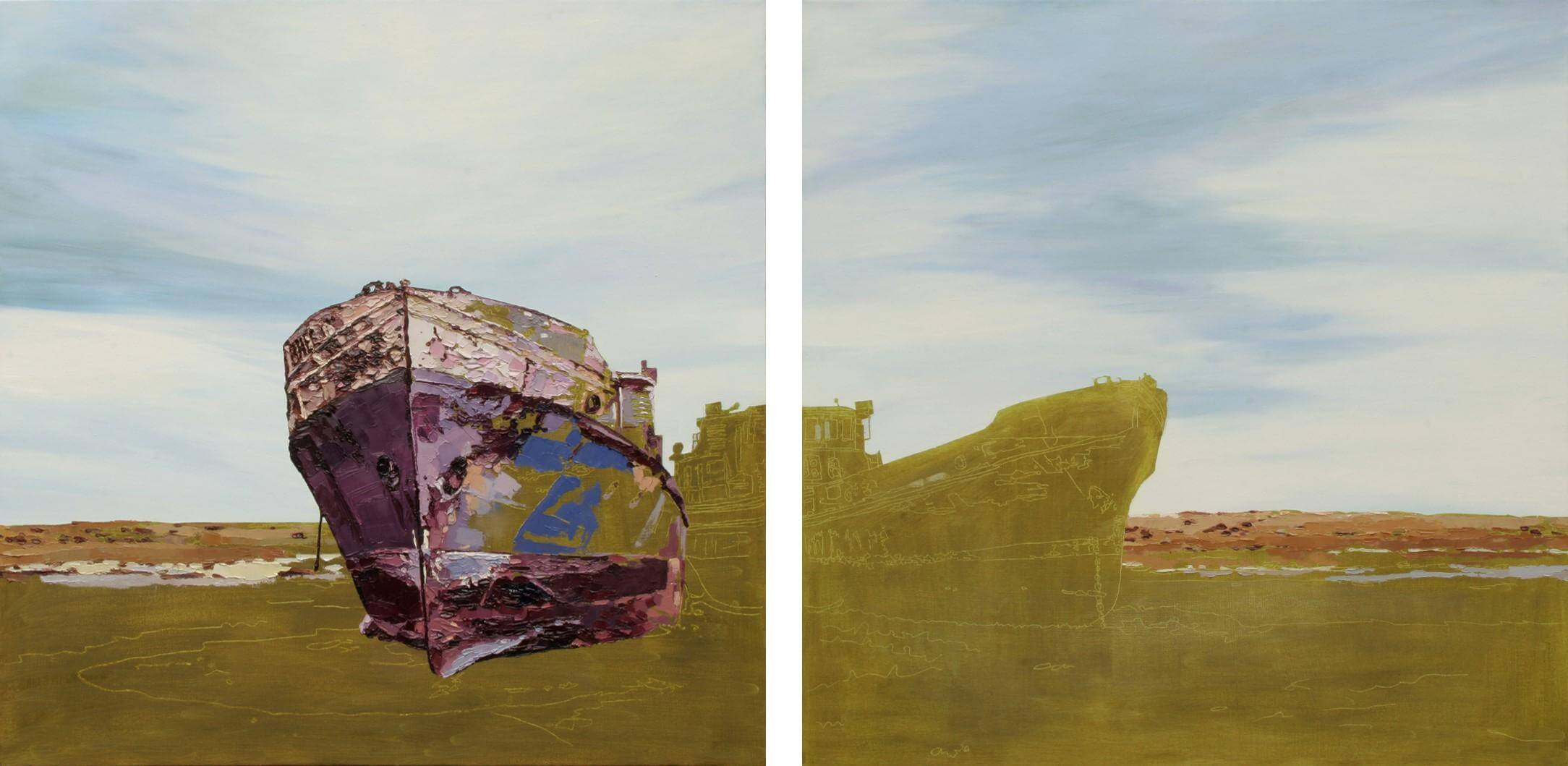 Porch Gallery Opening: Kazakh Paintings by Carla Moss