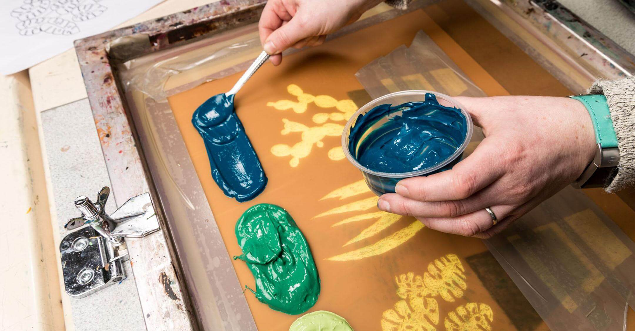 Paper Screen Printing – 5 week course