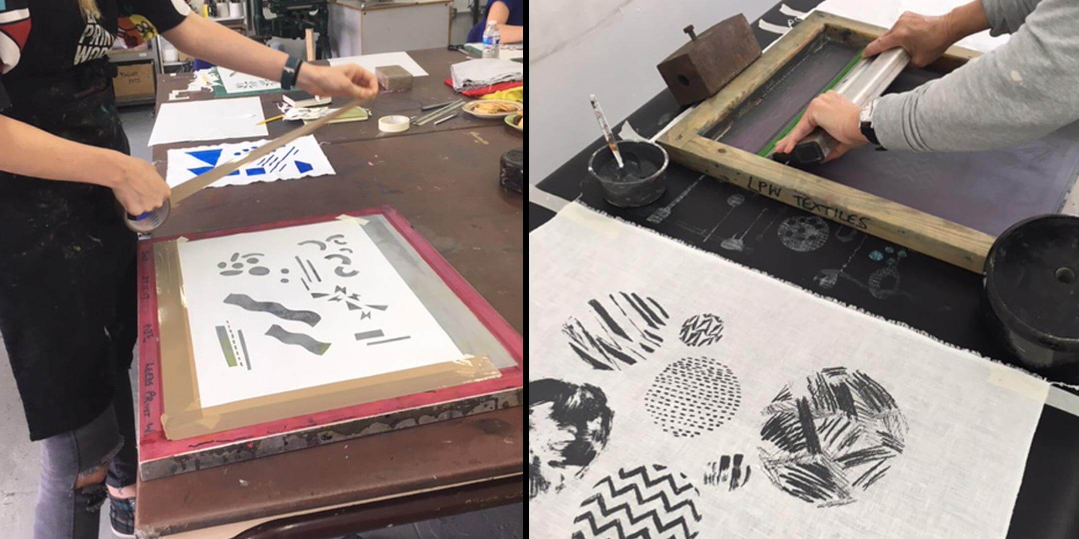 Introduction to Textile Printing – 5 week course