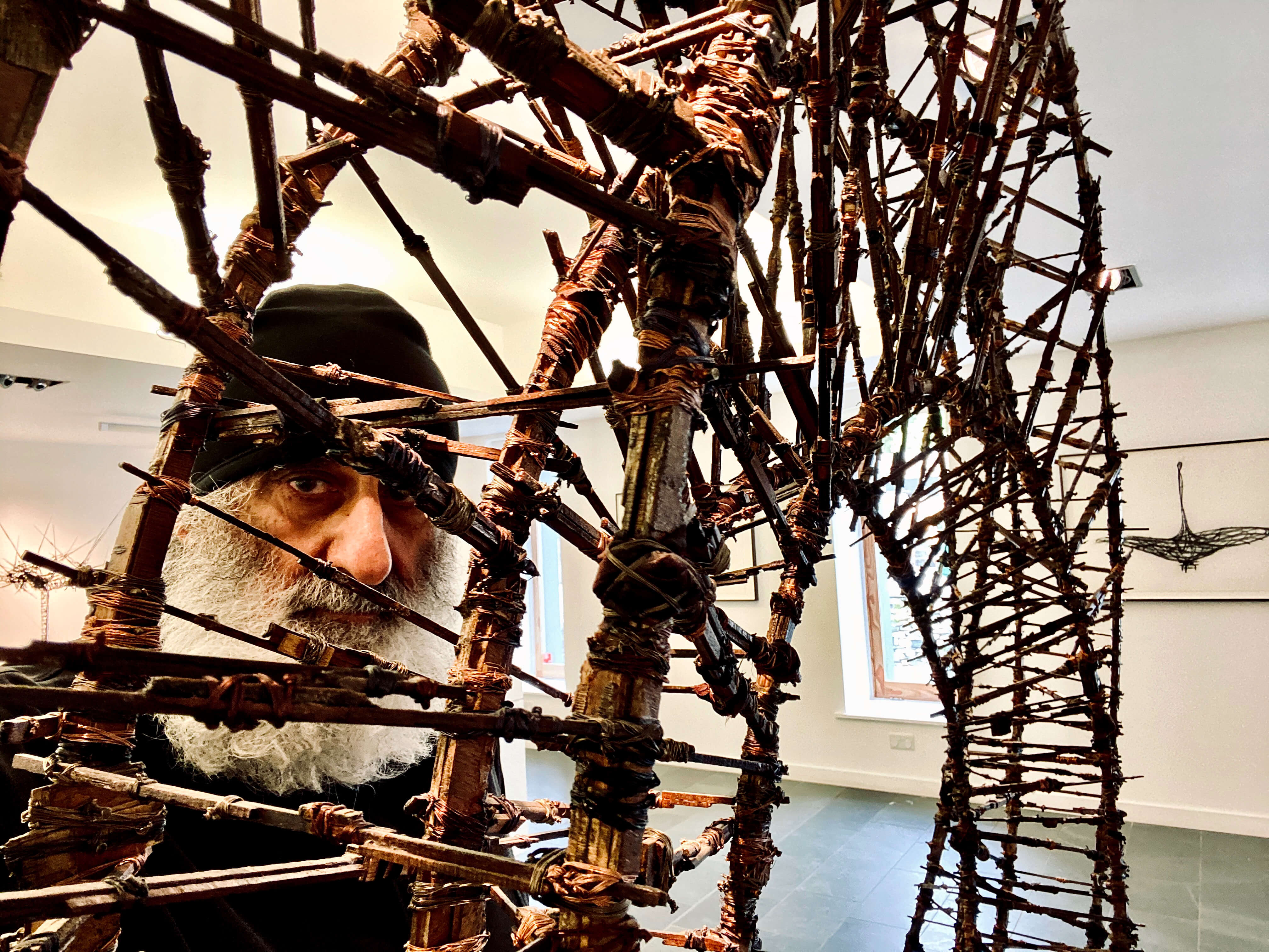 Internationally acclaimed sculptor Gerry Judah exhibits at Dalby Forest this autumn