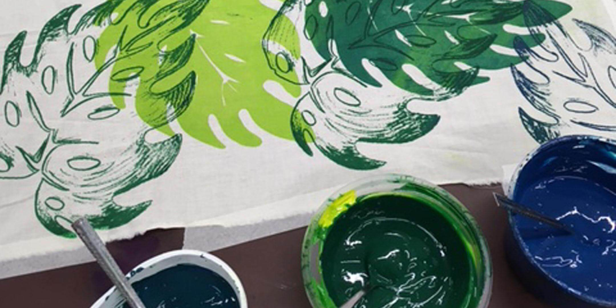 Textile Screen Printing – 2 Day Course