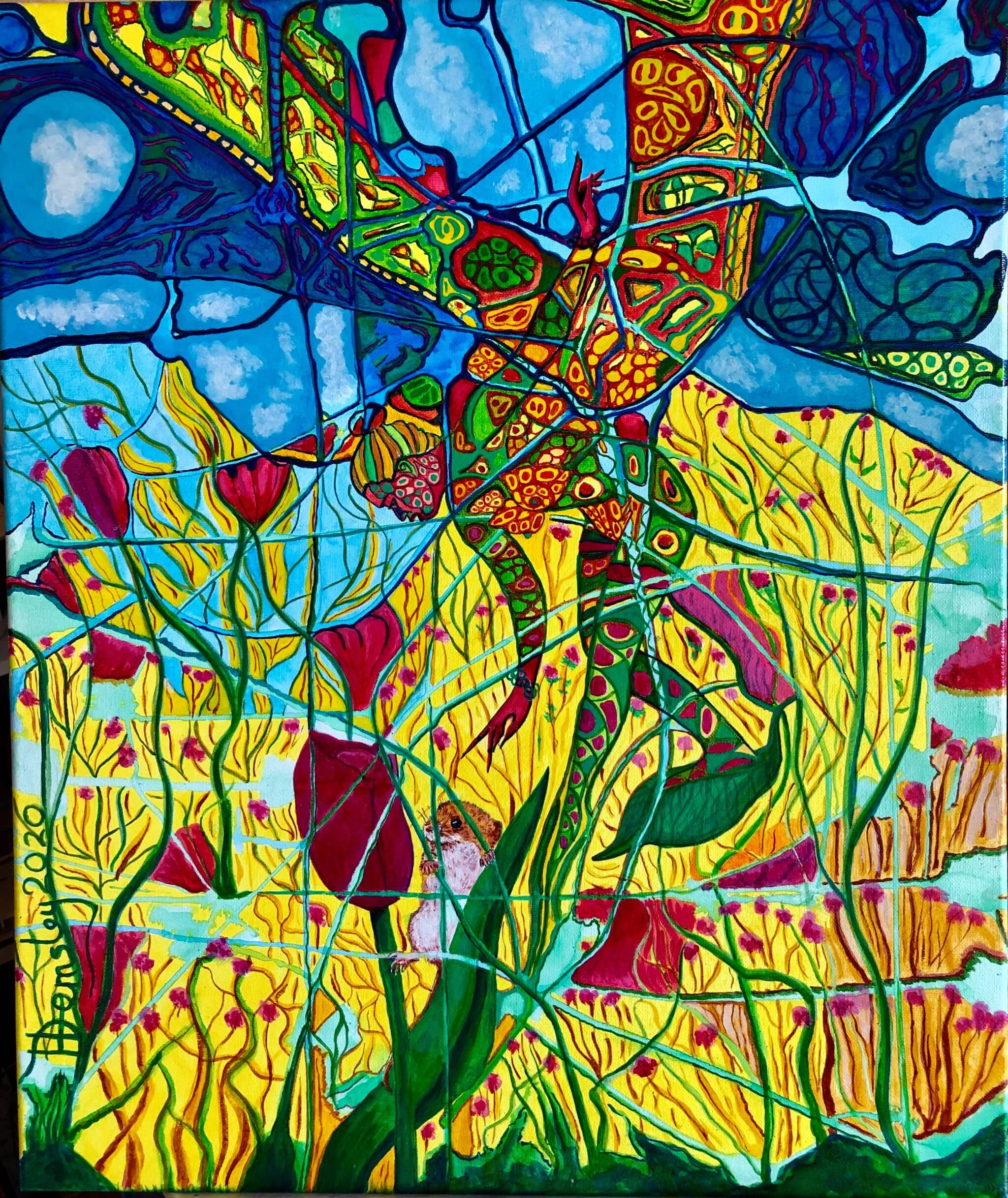 'THE BUTTERFLY AND THE FIELD MOUSE'