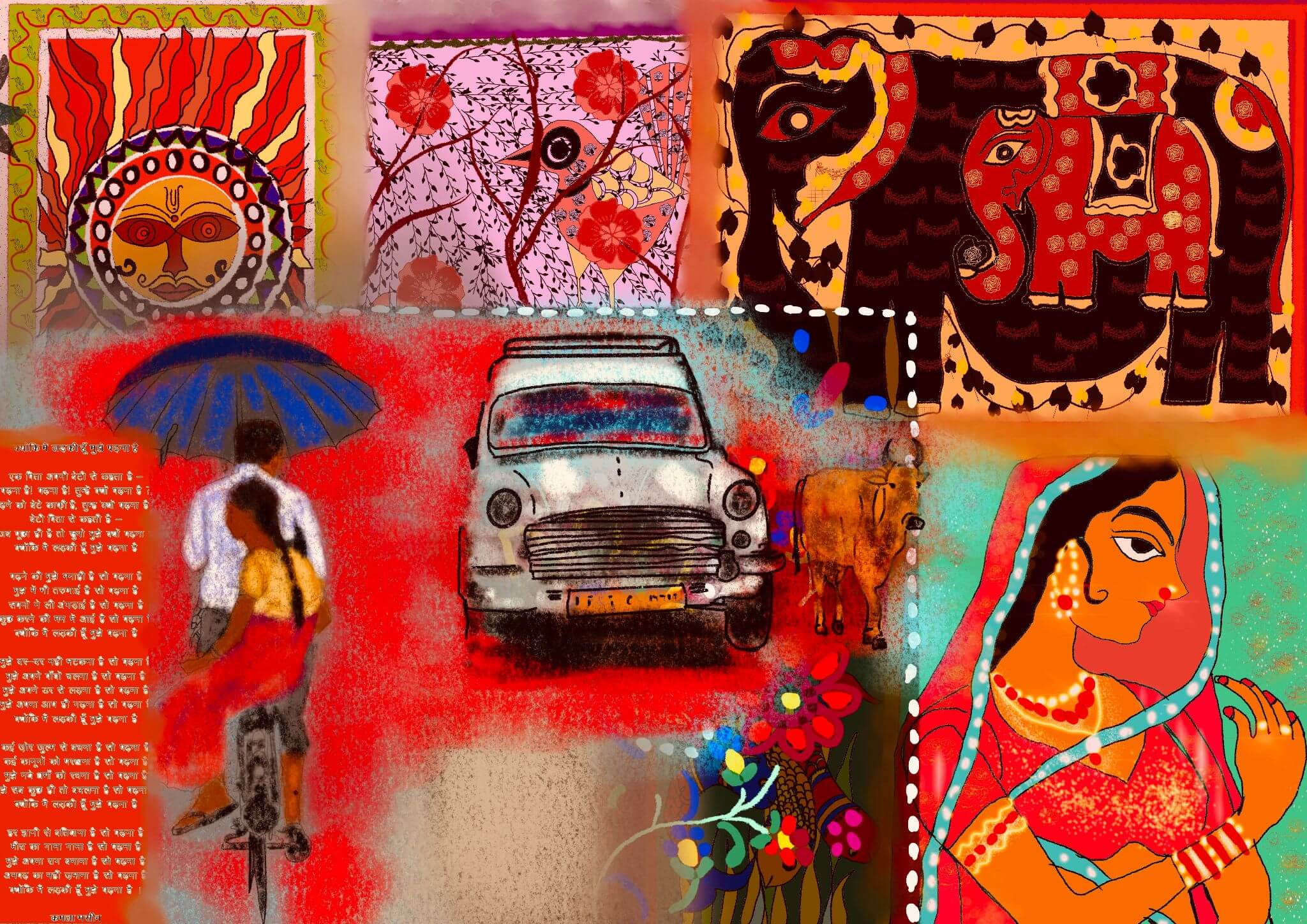 India-a kaleidoscopic tapestry